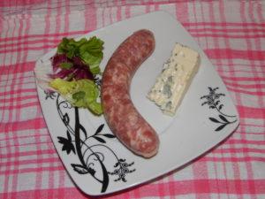 La Corbiniere Saucisse Au Bleu D'Auvergne 75