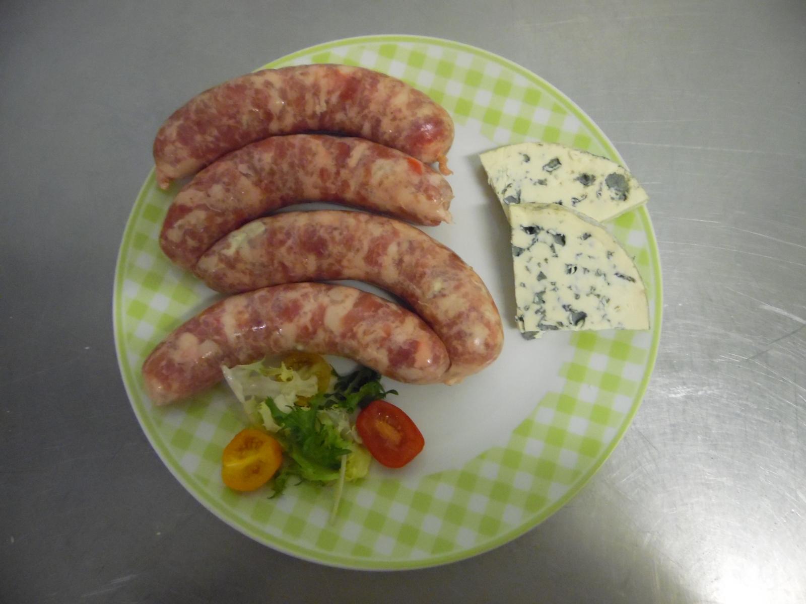 La Corbiniere Vente De Porc Mayenne Saucisse Au Bleu 16.00E